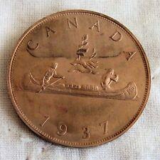 EDWARD VIII CANADA 1937 COPPER PROOF PATTERN VOYAGEUR DOLLAR