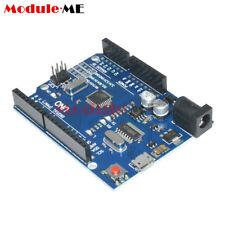 Latest Version UNO R3 ATMEGA328P-AU CH340G Micro USB Compatible For Arduino UK