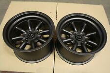 "2 x Rota RKR 15"" alloys Mx5 VW POLO GOLF LUPO Eunos CIVIC CRX Swift 9J 4x100 ET0"