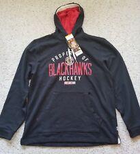 CCM Men's Chicago Blackhawks Casual Pullover Hoodie Size Large L Sweatshirt