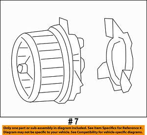 CHRYSLER OEM-Blower Motor 68223053AC