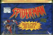Spider-Man Collector Tin 20 Metal Card Set Metallic Impressions 1996