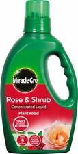 Miracle Gro Rose & Shrub Concentrated Plant Food Feed Fertiliser 1L