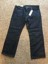 New LEVIS JEANS 559 RELAXED STRAIGHT FIT DARK BLUE MENS 40 X 30 NWT 40/30 $59.50
