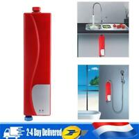3000W 220V Chauffe-eau Chauffage Instantané Electrique Robinet Mitigeur Cuisine