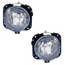 Jaguar X-Type Estate 2001-9/2005 Front Fog Spot Lights Lamps 1 Pair O/S & N/S