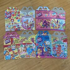 McDonalds Happy Meal Box Set 1994 Happy Birthday Train Fast Food Collector