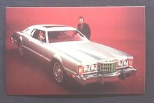 1975 FORD THUNDERBIRD  promotional postcard (for dealers use)......ever have????