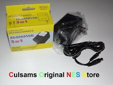3 In 1 AC Power Adapter Cord for Nintendo NES, Super SNES, Genesis & Guarantee