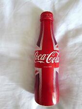 Special Limited Edition Coca Cola Coke Union Jack Olympics 2016 Aluminium Bottle