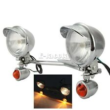 Passing Driving Auxiliary lights fit for Honda VTX 1300 1800 TYPE C R S N RETRO
