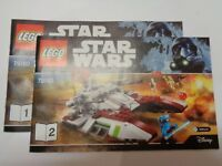 LEGO STAR WARS Instructions / instructions (75182) NEW NEW Republic Fighter Tank