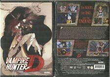 Vampire Hunter D OVA (DVD, 2015) BRAND NEW AND SEALED