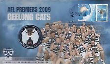2009 Australia PNC Geelong Cats AFL Premiers with Medallion