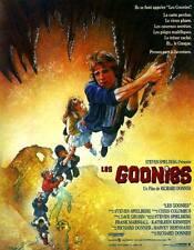 LES GOONIES Affiche Cinéma Originale 160x120 Movie Poster RICHARD DONNER