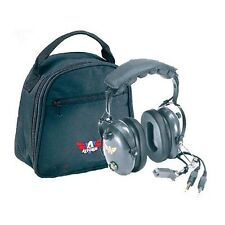 New Avcomm AC-200 PNR Pilot Aviation Headset w/bag