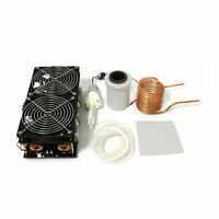 2500W ZVS Induction Heating Board Module Flyback Driver Heater + Coil + crucible