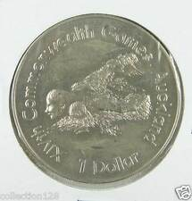 New listing New Zealand Dollar, 1989, Xiv Commonwealth Games, Swimmer