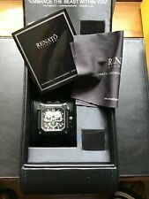 Renato Watch Cougar/Mint Swiss Move/Limited Production/Black w/Green Accents