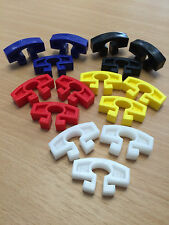 Aluminium Football Goal Post Net Clips(Choose Your Colour) Pack of 25 -FREE P&P