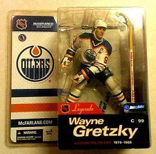 McFARLANE NHL Legends Series #1_WAYNE GRETZKY Variant action figure_White Jersey