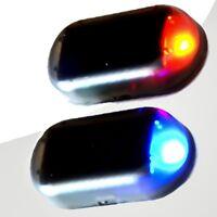 Auto LED Solarlicht Alarm rot Auto Anti-Diebstahl Warnung blinkende Lampe  #wsh