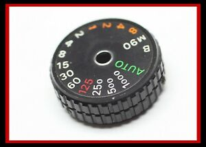 203023 NIKON FE SHUTTER SPEED DIAL REPAIR PART USED