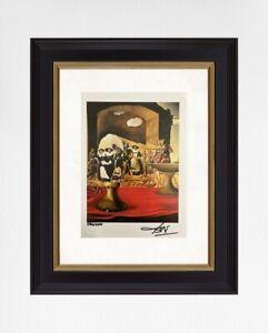 Salvador Dali 1974 Original Print Hand Signed with Certificate. Resale $5,750