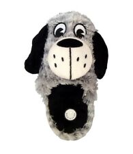 Womens Animal Print House slippers Slip On Fluffy Puppy Bedroom Mule Slipper