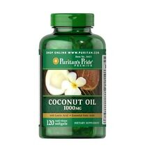 SHIPPING 24H OIL OF COCO 1000 MG 1x120= 120 PEARLS PURITAN´S Cholesterol