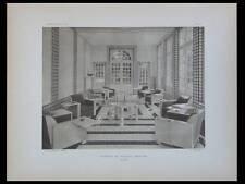 L'ARCHITECTE 1931 CHATEAU MAULNY, MOREUX, PONT PLOUGASTEL,CUSSET,GARE AUSTERLITZ