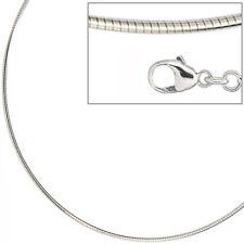 Halsreif 925 Sterling Silber 1,5 mm 45 cm Kette Halskette Silberhalsreif