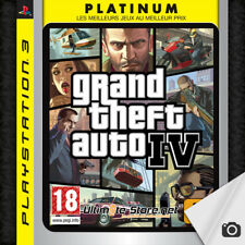 Jeu PS3 Grand Theft Auto IV GTA 4 PLATINUM + Map - PlayStation 3 (1)