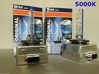 2PCS NEW OEM D3S 66340 4300K 35W HID XENON LIGHT BULBS SET HEADLIGHTS
