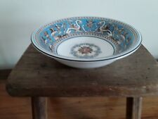WEDGWOOD FLORENTINE TURQUOISE W2714 CEREAL BOWL