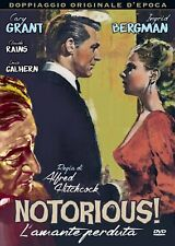 Dvd Notorious - L'Amante Perduta - (1946)  ** A&R Productions ** .......NUOVO