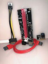 6 Pack PCI-E Riser PCE164P-N08 Graphics Extension for GPU Mining (Ver 009s)