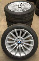 4 BMW Sommerräder Styling 237 5er F10 F11 6er F12 245/45 R18 96Y 6775407 Dunlop