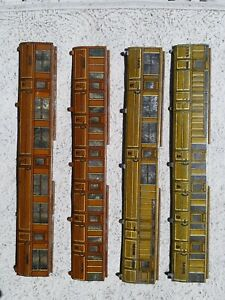 Hornby DubloX2 GresleyTeakCoach sides1st and 3rd Brake X2 42789 1stand3rd Spares