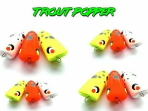 Popla Popper 1St, Trout Popper, Forelle Popper, Angel Popper