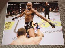 Anderson Silva Signed UFC Photo IP COA