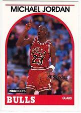 1989-90 HOOPS NBA BASKETBALL BASE CARD #200: MICHAEL JORDAN-3 TIMES ALL-STAR MVP