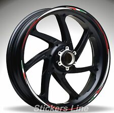 Adhésifs Roues Moto Bandes pour Benelli Trois 1130K Racing 4 Stickers Wheel
