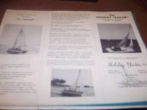 The Holiday Sailor Brochure & Blueprint