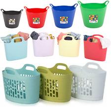 Flexi Tub Trug Bucket Handle Horse Feeding Construction Garden Storage 6 Sizes