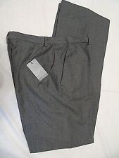 ICEBERG -ITALY SMART DESIGNER GREY WOOL TAILORED WORK TROUSERS IT 48 W32 L33
