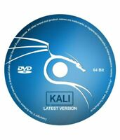 Kali Linux 64-Bit CD/Disc - LATEST VERSION - Penetration Testing O/S