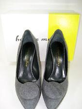 "BETTYE MULLER Gray Wool ""Bonham"" Platform Heel Size 40 $495"