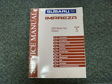 2002 Subaru Impreza Section 5 Chasis Suspension ABS Shop Service Repair Manual