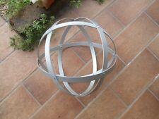 Genesa Crystal alluminio satinato diametro 30 cm